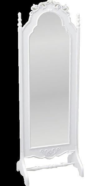 Espelho com moldura antiga.