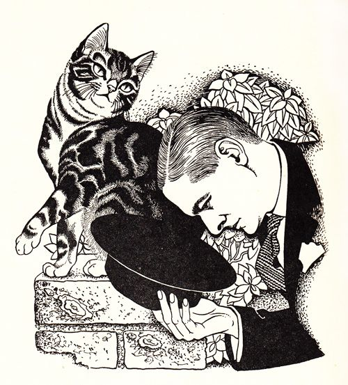 'How to Ad-dress a Cat'   Cats vs. Dogs: A poem by T. S. Eliot, with stunning vintage illustrations by Dame Eileen Mayo | Brain Pickings