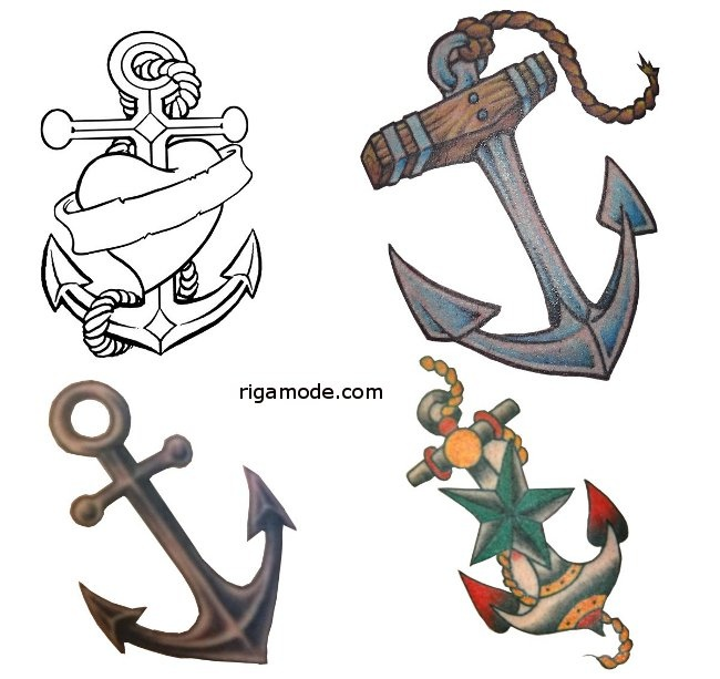 Simple anchor drawing