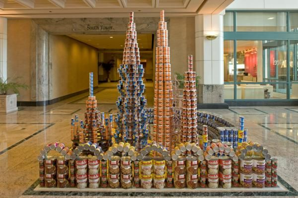 pin by dayna audirsch on canstruction pinterest