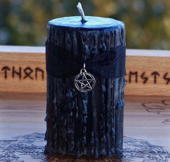 how to draw a banishing pentacle