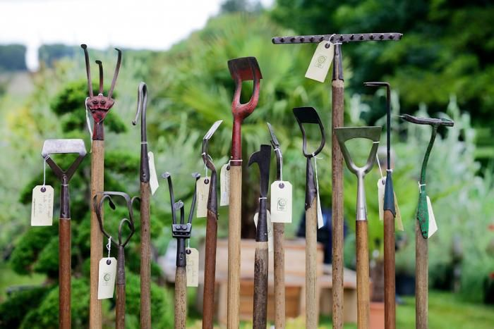 Vintage tools come in unfamiliar but useful shapes and sizes, from Garden and Wood. Photograph by James Corbett.