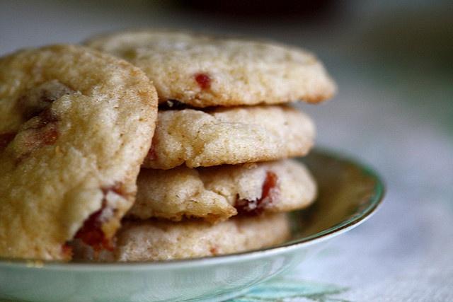 Cherry Jam Cookies | recipes | Pinterest