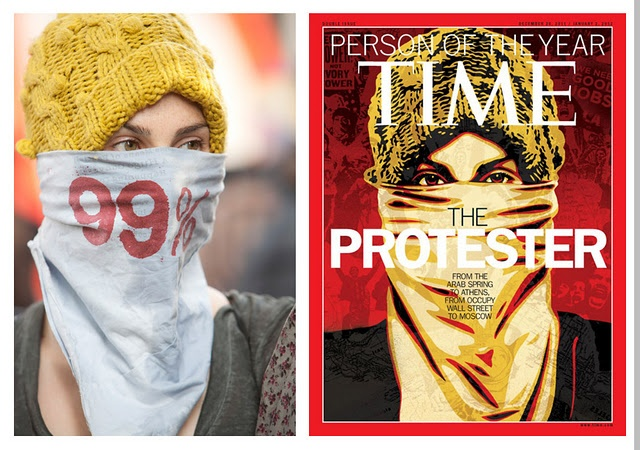 Photo by Ted Soqui, used as the basis for the Shepard Fairey cover of Time Magazine.