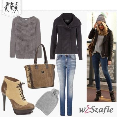 Brown and Grey Outfits Pinterest