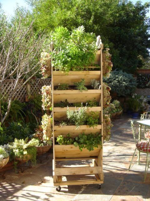 Vertical Gardening Yard Stuff Pinterest