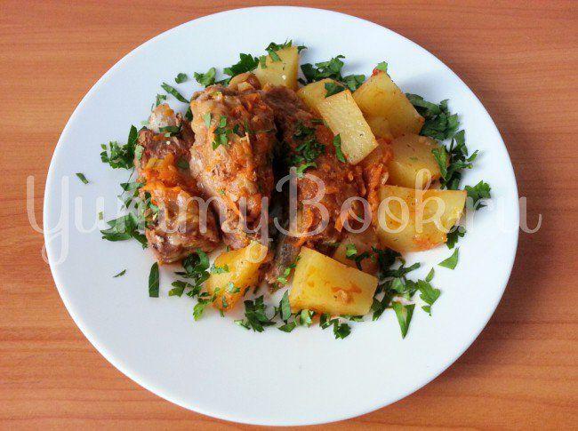Запеканка с капустой и картофелем в мультиварке