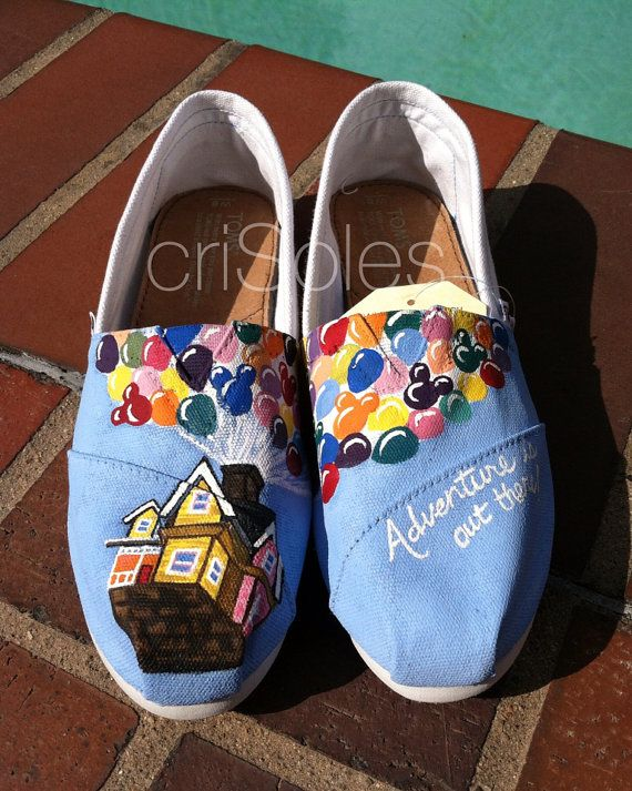 Disney UP Inspired TOMS - these are a need