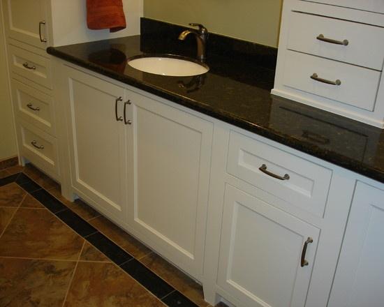 Original Modern Vanity On Aluminum Legs  Contemporary  Bathroom  Newark  By