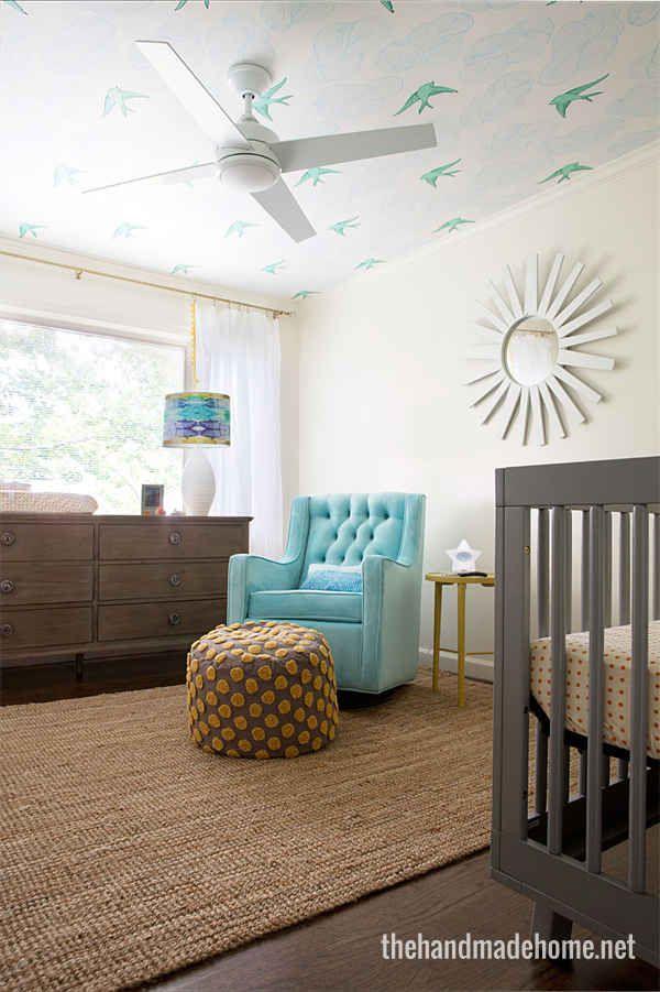 Gender nursery bedding : Gender-neutral nursery colors