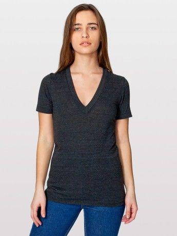 sleeve deep v neck frauen t shirts mit v ausschnitt t shirts mit. Black Bedroom Furniture Sets. Home Design Ideas