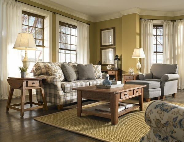 Country Style Living Room Sofas 600 x 464