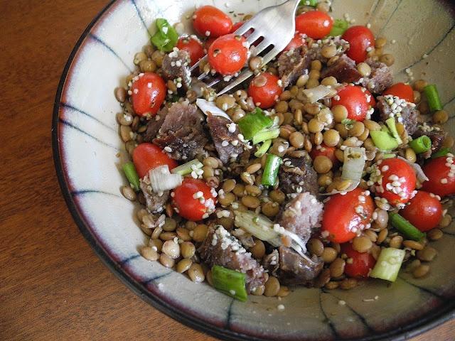Warm Lentil Salad | Recipes | Pinterest