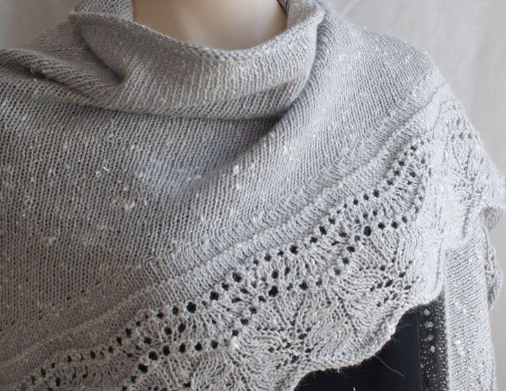 this Shawl  Knit Shawl large version Wrap Knit Pattern Scarf  Knitting Patterns Scarves And Wraps