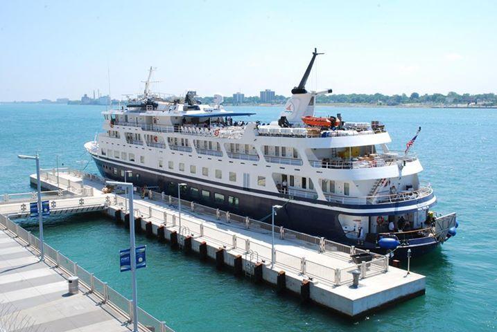 Great Lakes Cruise Ship At Port Detroit   Great Lake Ships   Pinterest