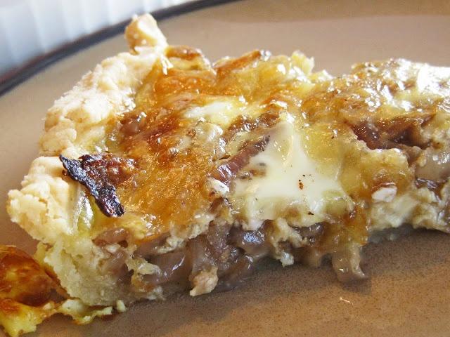 Caramelized Onion Quiche | Favorite Recipes | Pinterest
