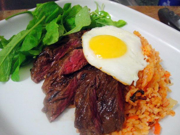 Cook the Book: Steak and Eggs Korean Style | Serious Eats : Recipes