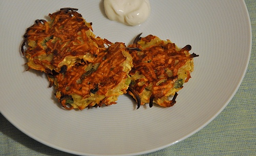 Baked Sweet Potato Latkes by eating/sf, since I am trying to avoid the ...