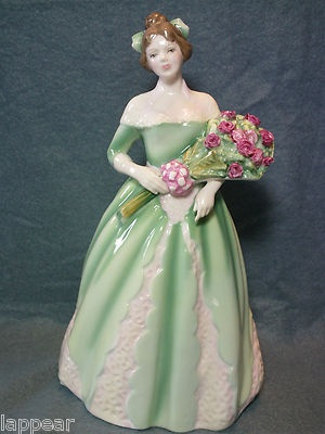 Royal Doulton Bone China Happy Birthday 1994 HN3660 EXCELLENT. Stunning a beautiful bone china figurine.