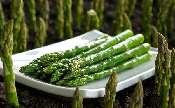 Garden Fresh Asparagus with Dijon Vinaigrette