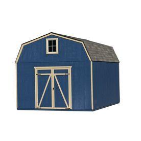 Hollans models heartland estate 10ft x 12ft gambrel wood for Heartland sheds