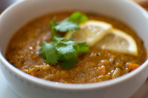 Red Lentil Soup with Lemon...not usually a huge soup fan, but this ...