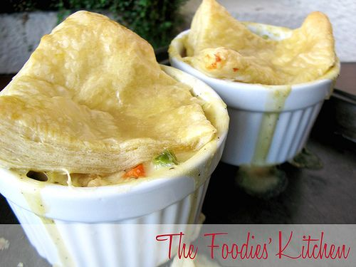Chicken Potpies with Puff Pastry by The Foodies' Kitchen on Flickr