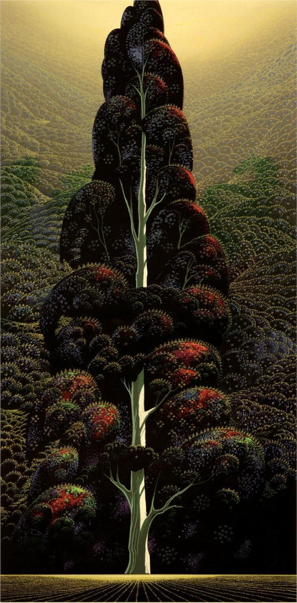 Reaching for the - por Eyvind Earle WOW !