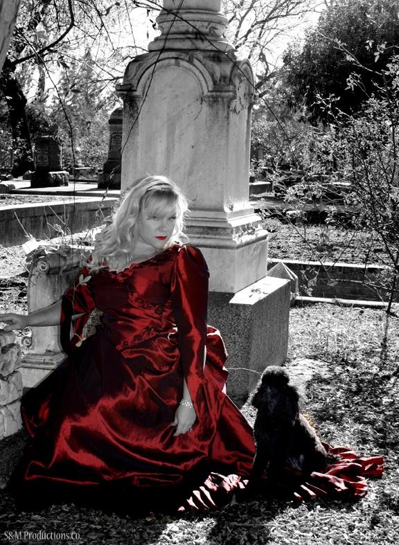 Mina Dress by HPI & Vampire Ball head costumer, Carol Gillis