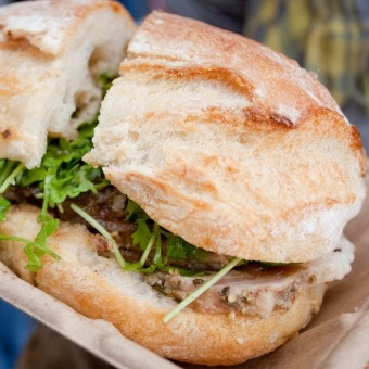 Porchetta Sandwich @ Roli Roti | In Search Of Taste | Pinterest