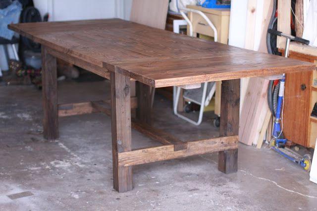 Extending farmhouse table To build