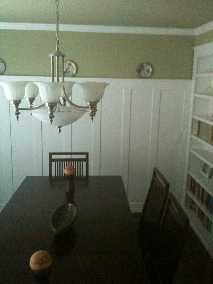 wainscoting in dining room for the home pinterest