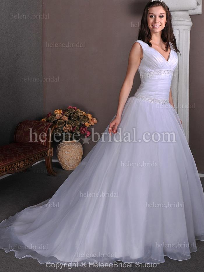 Strapless tank satin organza tulle wedding dress wd0223 us 249 99