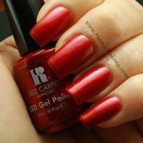 Red Carpet Manicure Glitz and Glamorous