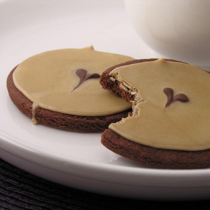 Dark Chocolate Espresso Cookies!   The Sweet Shop   Pinterest