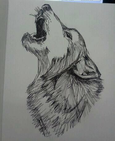 lone wolf | My drawings | Pinterest: pinterest.com/pin/281052832966183957