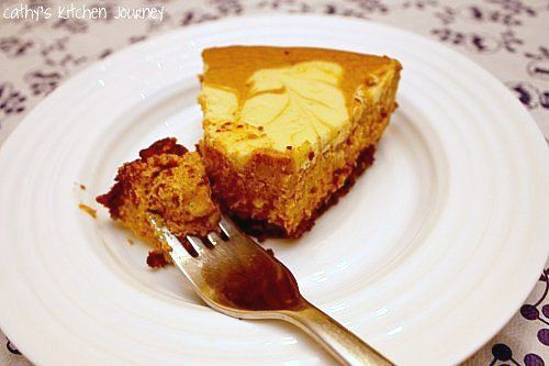 Marbled Pumpkin Cheesecake | Cakes | Pinterest