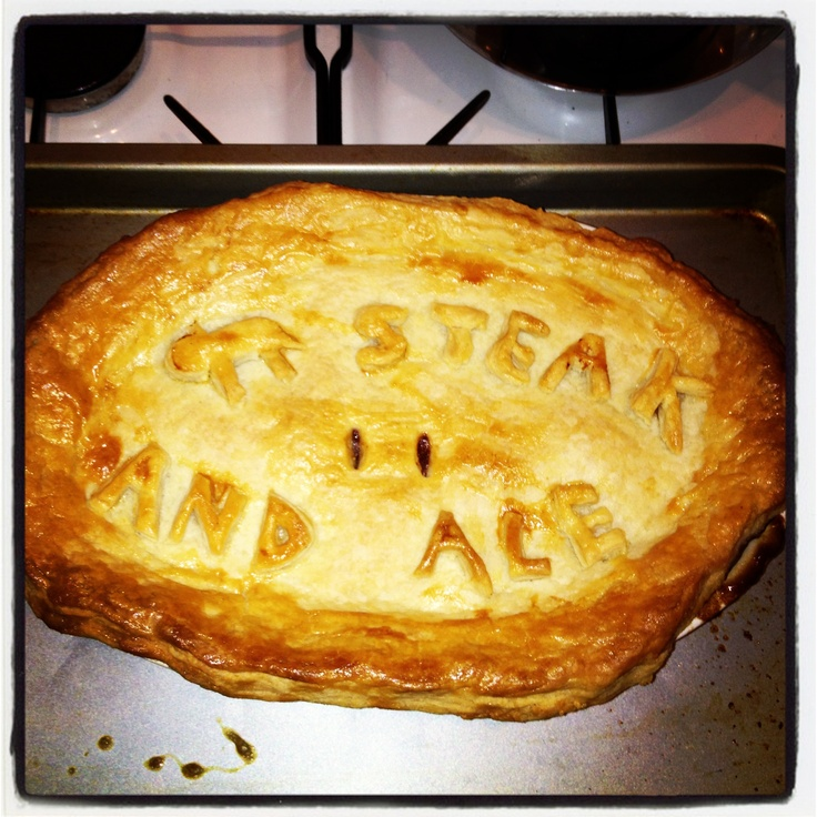 Steak and ale pie mmmm nom! | My home bakes | Pinterest
