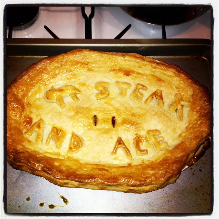 Steak and ale pie mmmm nom!   My home bakes   Pinterest