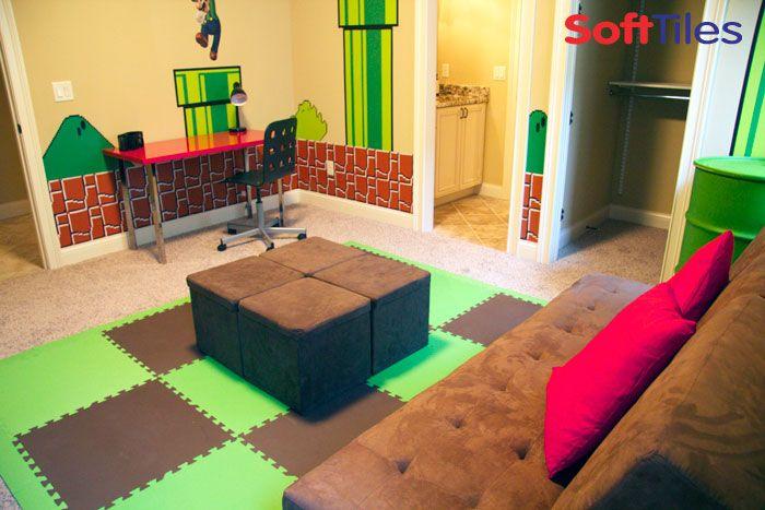 super mario themed bedroom decorating mario room pinter