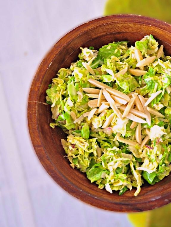Shaved Brussels Sprouts with Lemon Vinaigrette | #glutenfree # ...