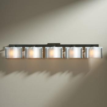 exos wave 5 light bath bar hubbardton forge bath lights ylighting