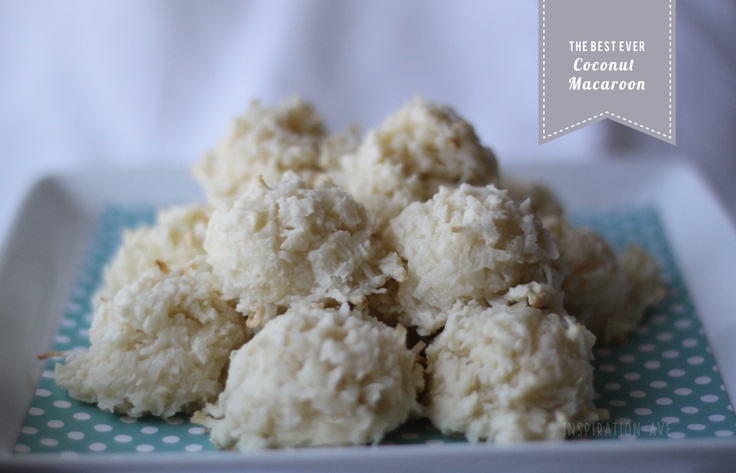 Coconut Macaroons | Cookies | Pinterest