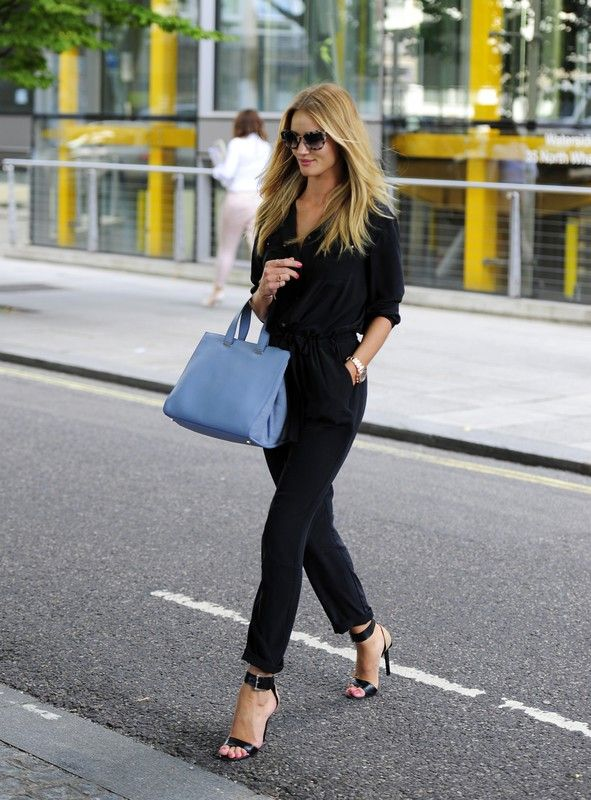 Gwiazdy prywatnie, najlepsze stylizacje: Rosie Huntington-Whiteley w Londynie, fot. East News