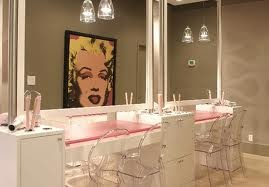 Very understated salon- so are Louis Ghost chairs actually comfy?