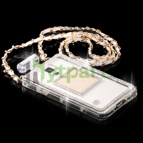 Girly TPU 3D Perfume Bottle Diamond Protective Case for Samsung Galaxy ...