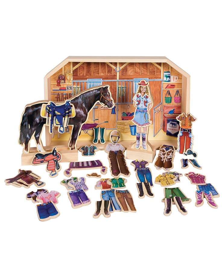 """Magnetic Dress Up """"Stable Pals"""""""