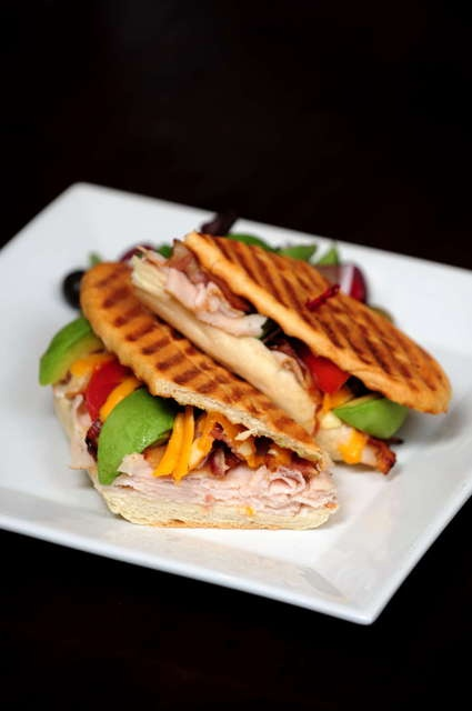 swiss avocado and spinach panini avocado prosciutto crostini turkey ...