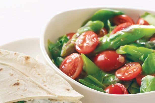 Spinach & asparagus salad   Pack the Picnic Basket   Pinterest