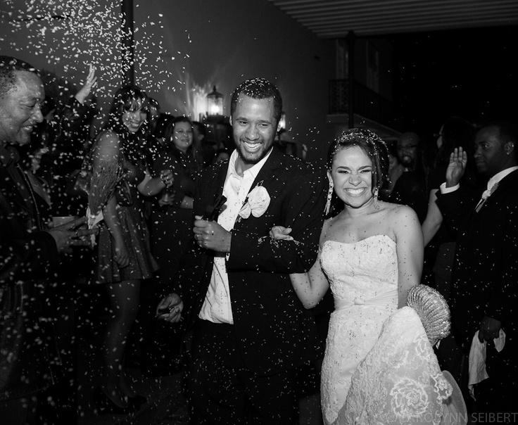 Wedding Photography, wedding exit — Carolynn Seibert Photography